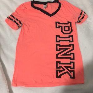 Medium Victoria secrets pink shirt